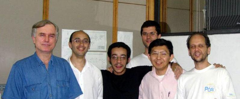 Pioneiros da AllChemy: Gutz Carlos Marcelo Zé Robinson Claudimir